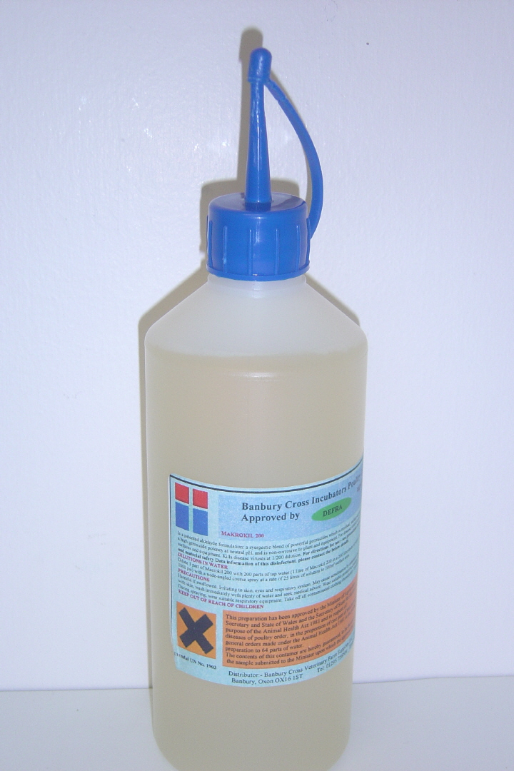 Incubation Disinfectant 1 Litre
