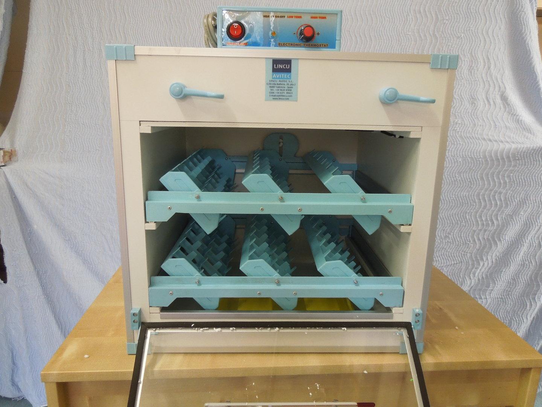 Hen Automatic Tilt Incubator with Digital Temperature Control 48AT MK1 #614A2D